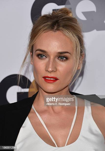 Actress Diane Kruger arrives at the GQ Men of the Year Party at Chateau Marmont on November 13 2012 in Los Angeles California