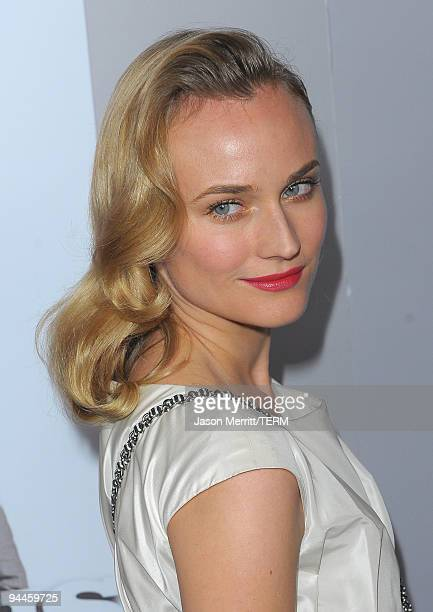 Actress Diane Kruger arrives at the Inglourious Basterds BluRay and DVD launch held at New Beverly Cinema on December 14 2009 in Los Angeles...