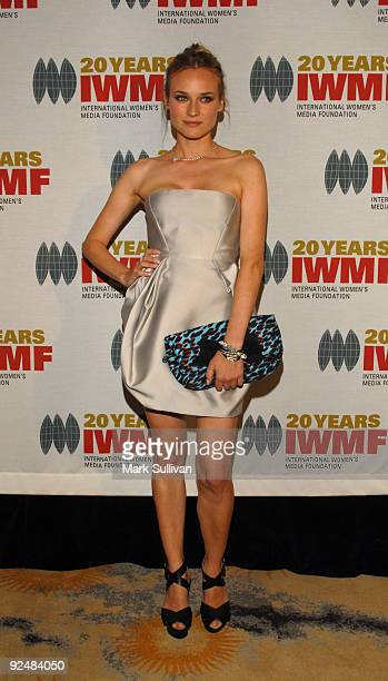 Actress Diane Kruger arrives at The International Women's Media Foundation's Courage In Journalism Awards held at the Beverly Hills Hotel on October...