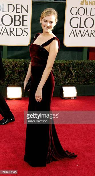 672b810c113 Actress Diane Kruger arrives to the 63rd Annual Golden Globe Awards at the  Beverly Hilton on