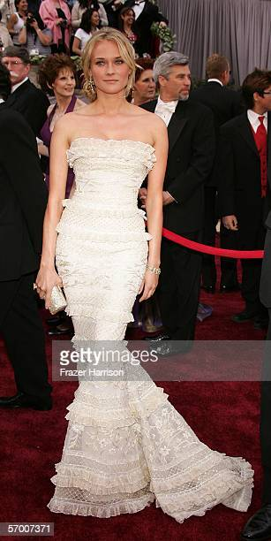 Actress Diane Kruger arrives to the 78th Annual Academy Awards at the Kodak Theatre on March 5 2006 in Hollywood California