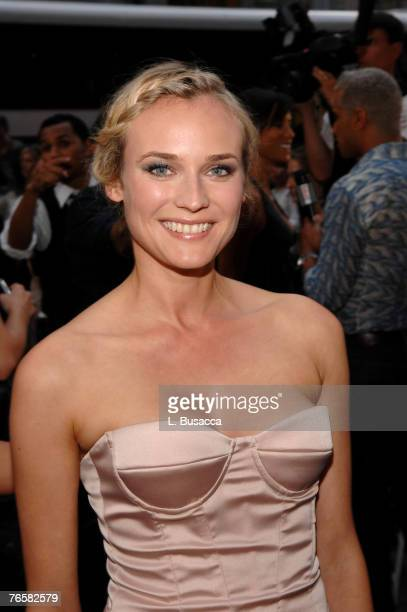 Actress Diane Kruger at the Just Cavalli New York Flagship store opening during MercedesBenz Fashion Week Spring 2008 on September 7 2007 in New York...