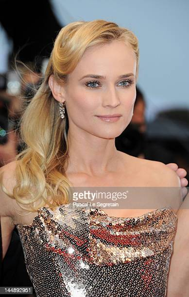 """Actress Diane Kruger attend the """"Amour"""" Premiere during the 65th Annual Cannes Film Festival at Palais des Festivals on May 20, 2012 in Cannes,..."""