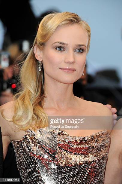 Actress Diane Kruger attend the 'Amour' Premiere during the 65th Annual Cannes Film Festival at Palais des Festivals on May 20 2012 in Cannes France