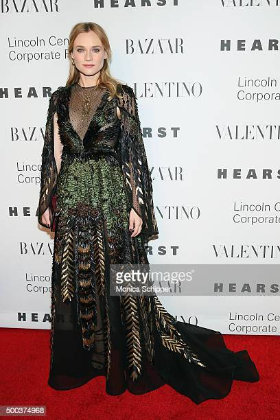 Actress Diane Kruger attends 'An Evening Honoring Valentino' Lincoln Center Corporate Fund Gala Inside Arrivals at Alice Tully Hall at Lincoln Center...