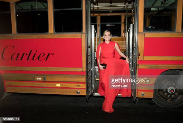 Actress Diane Kruger attends Cartier's celebration of Resonances de Cartier on October 10 2017 in New York City