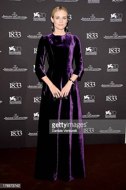 Actress Diane Kruger attends JaegerLeCoultre Gala Dinner Celebrating Its 180th Anniversary At Teatro La Fenice In Venice on September 2 2013 in...
