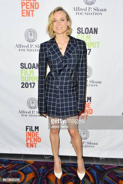 Actress Diane Kruger attends Sloan Film Summit 2017 Day 1 at Regal Cinemas LA Live on October 27 2017 in Los Angeles California