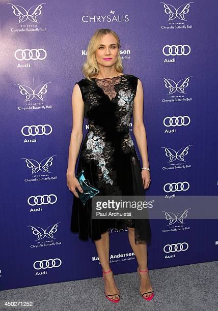 Actress Diane Kruger attends the 13th Annual Chrysalis Butterfly Ball at a private Mandeville Canyon Estate on June 7 2014 in Los Angeles California