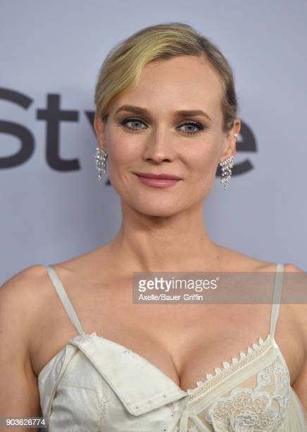 Actress Diane Kruger attends the 19th Annual PostGolden Globes Party hosted by Warner Bros Pictures and InStyle at The Beverly Hilton Hotel on...