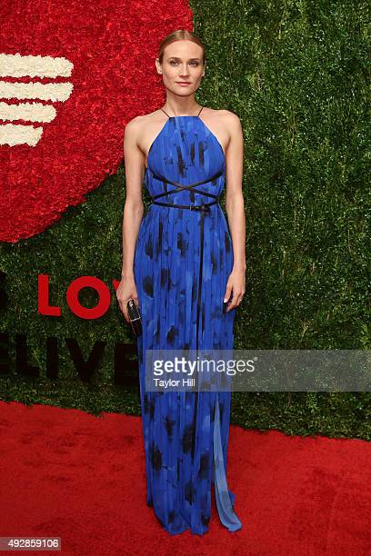 Actress Diane Kruger attends the 2015 God's Love WE Deliver Golden Heart Awards at Spring Studios on October 15 2015 in New York City