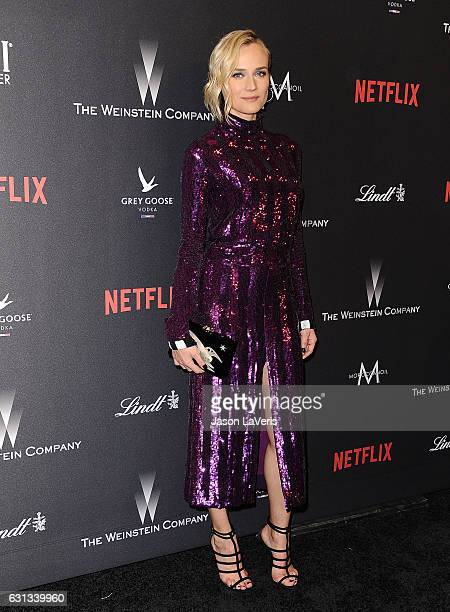 Actress Diane Kruger attends the 2017 Weinstein Company and Netflix Golden Globes after party on January 8 2017 in Los Angeles California