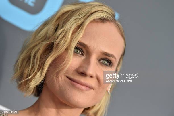 Actress Diane Kruger attends the 23rd Annual Critics' Choice Awards at Barker Hangar on January 11 2018 in Santa Monica California