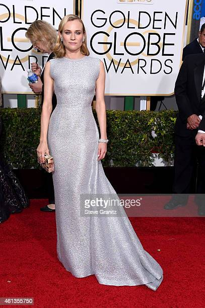 Actress Diane Kruger attends the 72nd Annual Golden Globe Awards at The Beverly Hilton Hotel on January 11, 2015 in Beverly Hills, California.