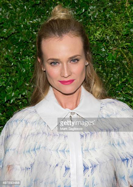 Actress Diane Kruger attends the 8th Annual Museum Of Modern Art Film Benefit Honoring Cate Blanchett on November 17 2015 in New York City