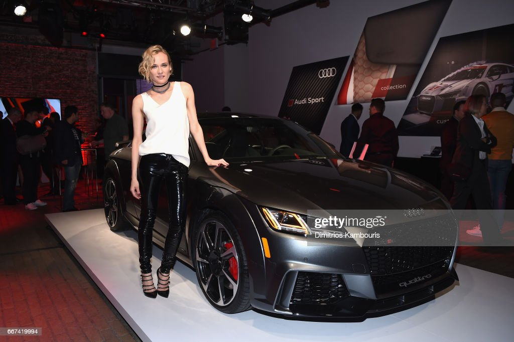 Actress Diane Kruger attends the Audi Sport exclusive launch event at Highline Stages on April 11, 2017 in New York City.