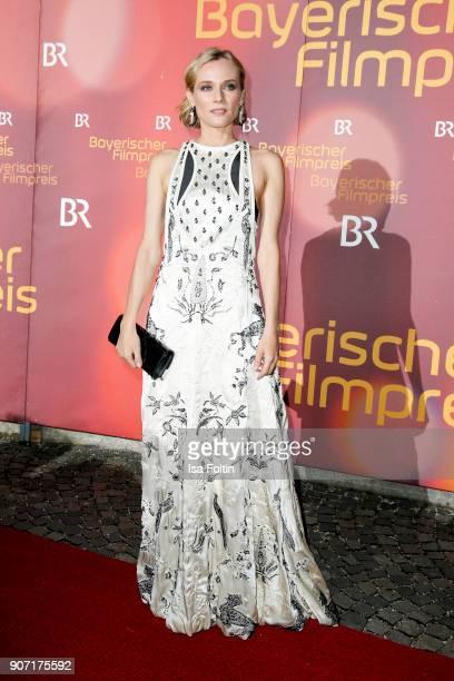 US actress Diane Kruger attends the Bayerischer Filmpreis 2018 at Prinzregententheater on January 21 2018 in Munich Germany
