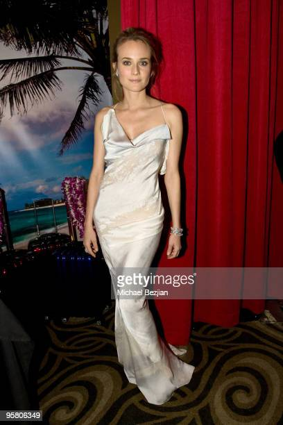 Actress Diane Kruger attends the BFCA Critics' Choice Movie Awards at Hollywood Palladium on January 15 2010 in Hollywood California