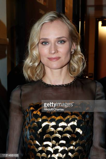 Actress Diane Kruger attends the Cesar Film Awards 2019 at Salle Pleyel on February 22, 2019 in Paris, France.