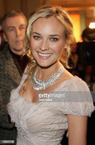 Actress Diane Kruger attends the Cinema for Peace Charity Gala on 12 February 2007 in Berlin Germany The gala is traditionally held during the Berlin...