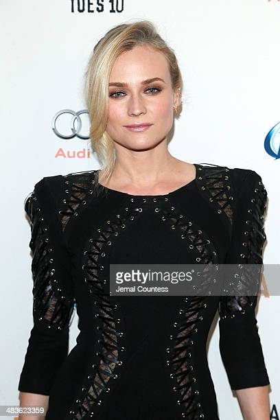 Actress Diane Kruger attends the FX Networks Upfront screening of Fargo at SVA Theater on April 9 2014 in New York City