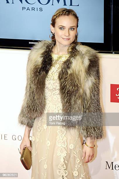 Actress Diane Kruger attends the Goldene Kamera 2010 Award at the Axel Springer Verlag on January 30, 2010 in Berlin, Germany.