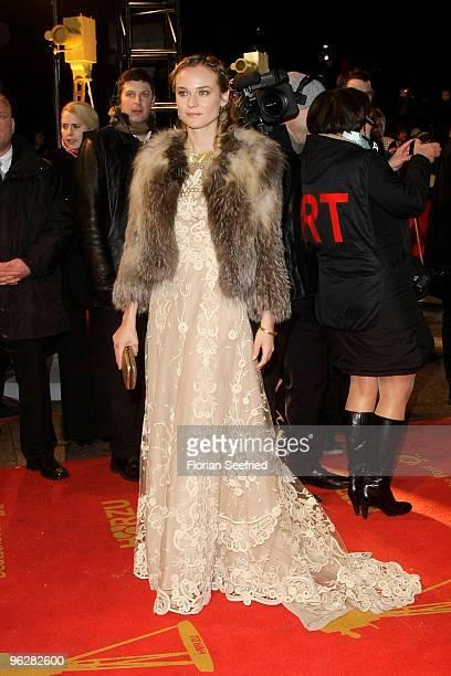 Actress Diane Kruger attends the Goldene Kamera 2010 Award at the Axel Springer Verlag on January 30 2010 in Berlin Germany