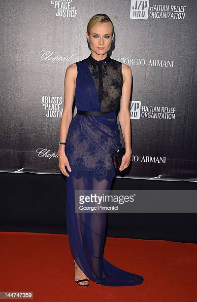 Actress Diane Kruger attends the Haiti Carnival In Cannes Benefitting J/P HRO Artists For Peace and Justice Happy Hearts Fund Presented By Armani...