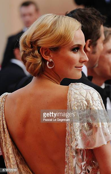Actress Diane Kruger attends the Inglourious Basterds Premiere held at the Palais Des Festivals during the 62nd International Cannes Film Festival on...