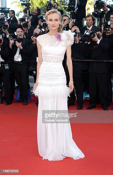 Actress Diane Kruger attends the 'Killing Them Softly' Premiere during the 65th Annual Cannes Film Festival at Palais des Festivals on May 22 2012 in...