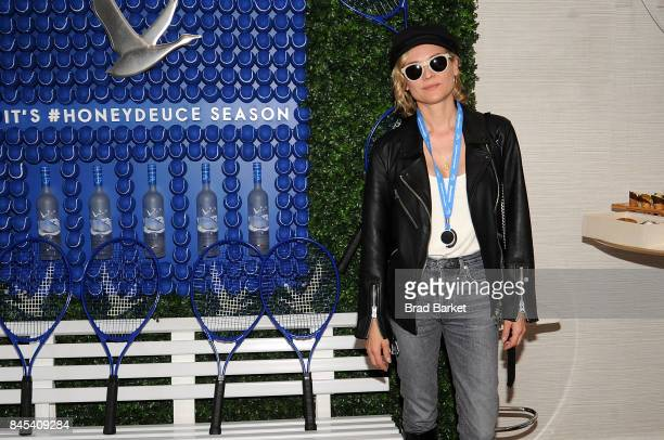 Actress Diane Kruger attends the men's US Open Finals Season in the Grey Goose Suite at The 2017 US Open at USTA Billie Jean King National Tennis...