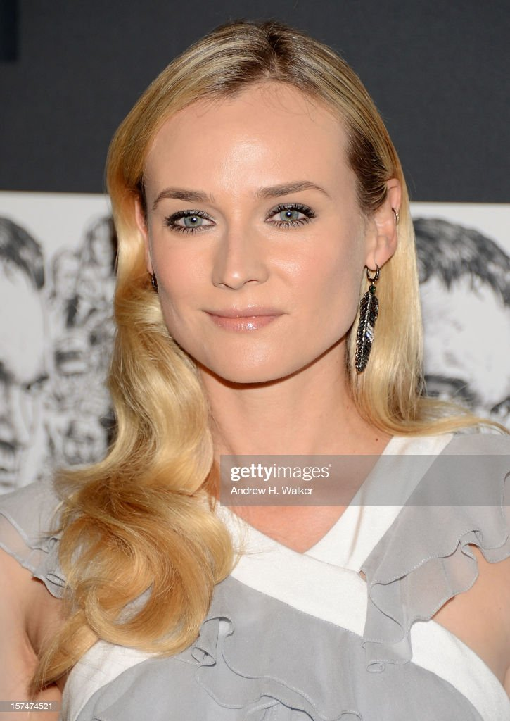 Actress Diane Kruger attends The Museum of Modern Art Film Benefit Honoring Quentin Tarantino at MOMA on December 3, 2012 in New York City.