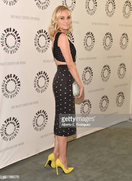 Actress Diane Kruger attends The Paley Center For Media Presents FX's The Bridge at The Paley Center for Media on June 24 2014 in Beverly Hills...