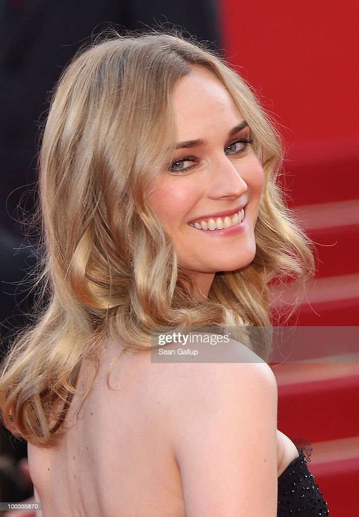 Actress Diane Kruger attends the Palme d'Or Award Closing Ceremony held at the Palais des Festivals during the 63rd Annual Cannes Film Festival on May 23, 2010 in Cannes, France.