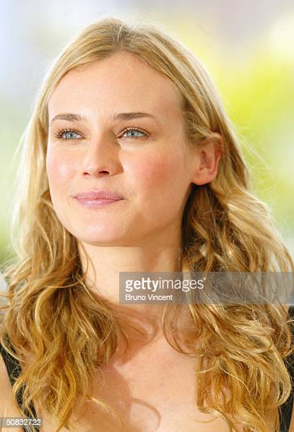 Actress Diane Kruger attends the Photocall for Troy ahead of tonight's World Premiere showing at the 57th Annual Cannes Film Festival on May 13 2004...