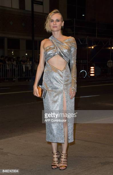 Actress Diane Kruger attends the premiere of 'In The Fade' during the 2017 Toronto International Film Festival September 12 in Toronto Ontario / AFP...
