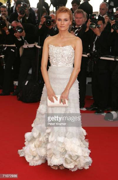 Actress Diane Kruger attends the premiere of 'Transylvania' during the 59th International Cannes Film Festival closing ceremony at the Palais May 28...