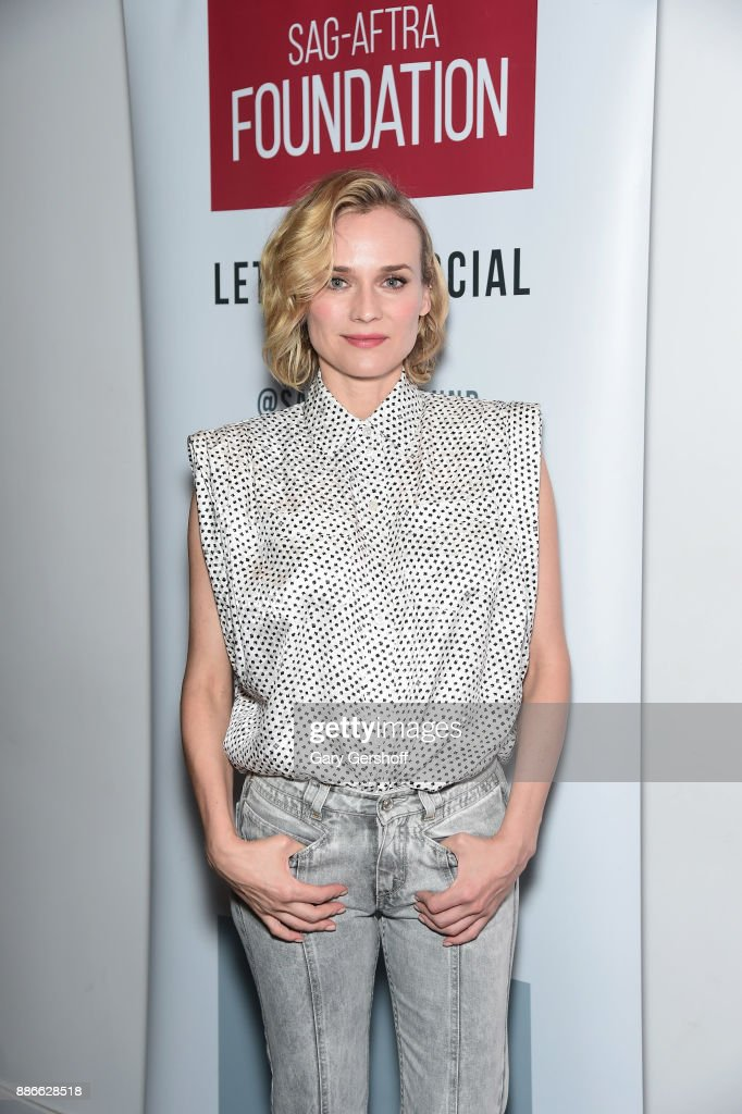 Actress Diane Kruger attends the SAG-AFTRA Foundation Conversations to discuss the film 'In The Fade' at The Robin Williams Center on December 5, 2017 in New York City.