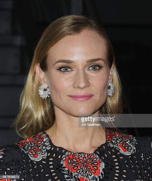 Actress Diane Kruger attends the screening of IFC Films' 'Disorder' hosted by The Cinema Society Chopard with Line 39 and Qui at Landmark's Sunshine...