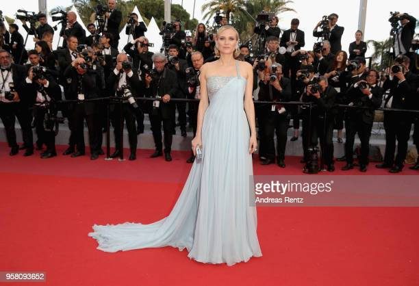 Actress Diane Kruger attends the screening of Sink Or Swim during the 71st annual Cannes Film Festival at Palais des Festivals on May 13 2018 in...