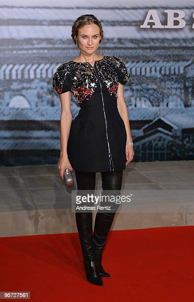Actress Diane Kruger attends the 'Sherlock Holmes' German Premiere at CineStar on January 12 2010 in Berlin Germany