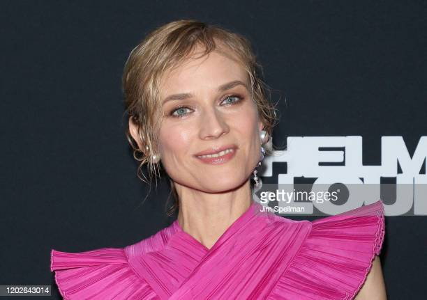 Actress Diane Kruger attends the Thelma Louise Women In Motion screening at Museum of Modern Art on January 28 2020 in New York City