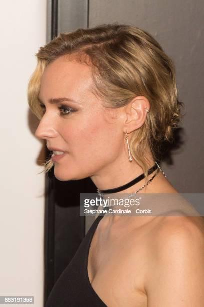 Actress Diane Kruger attends the Tout Nous Separe Paris Premiere at UGC Cine Cite Bercy on October 19 2017 in Paris France