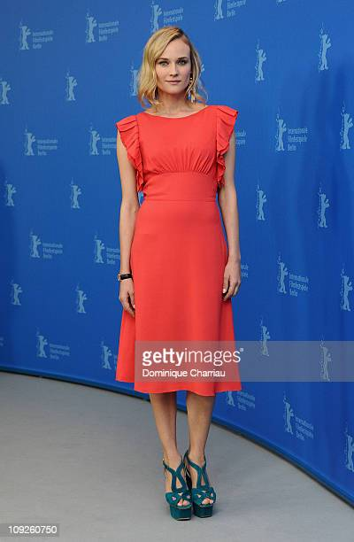 Actress Diane Kruger attends the 'Unknown' Photocall during day nine of the 61st Berlin International Film Festival at the Grand Hyatt on February 18...
