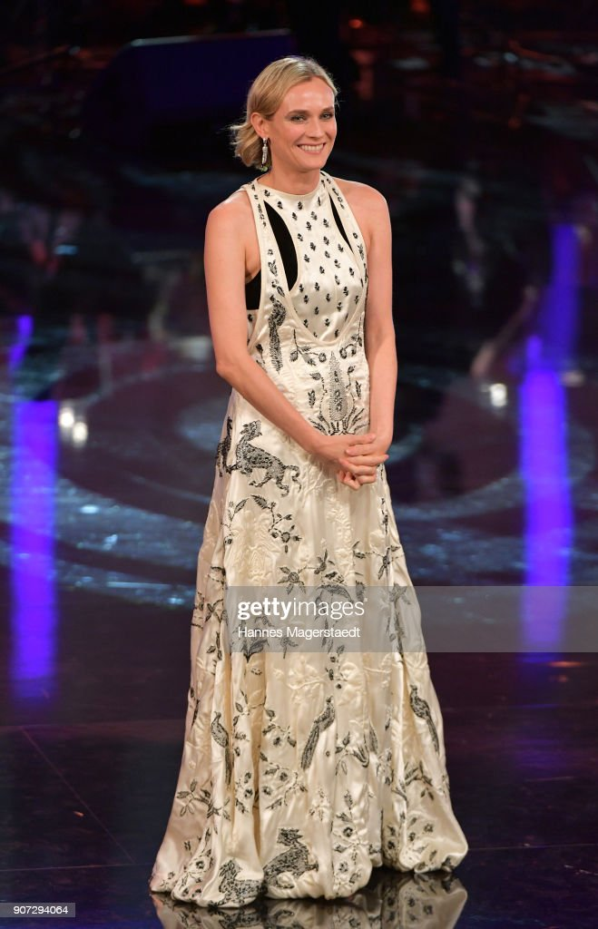 Actress Diane Kruger during the Bayerischer Filmpreis 2018 at Prinzregententheater on January 19, 2018 in Munich, Germany.