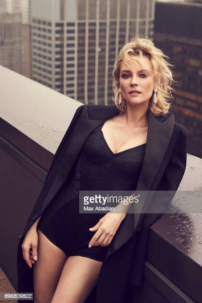 Actress Diane Kruger is photographed for DuJour Magazine on October 9 2017 in Los Angeles California ON DOMESTIC EMBARGO UNTIL APRIL 1 2018 ON...