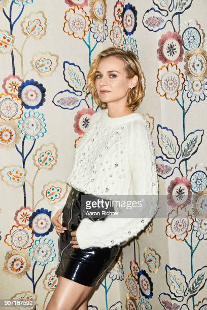 Actress Diane Kruger is photographed for New York Times on December 5 2017 in New York City
