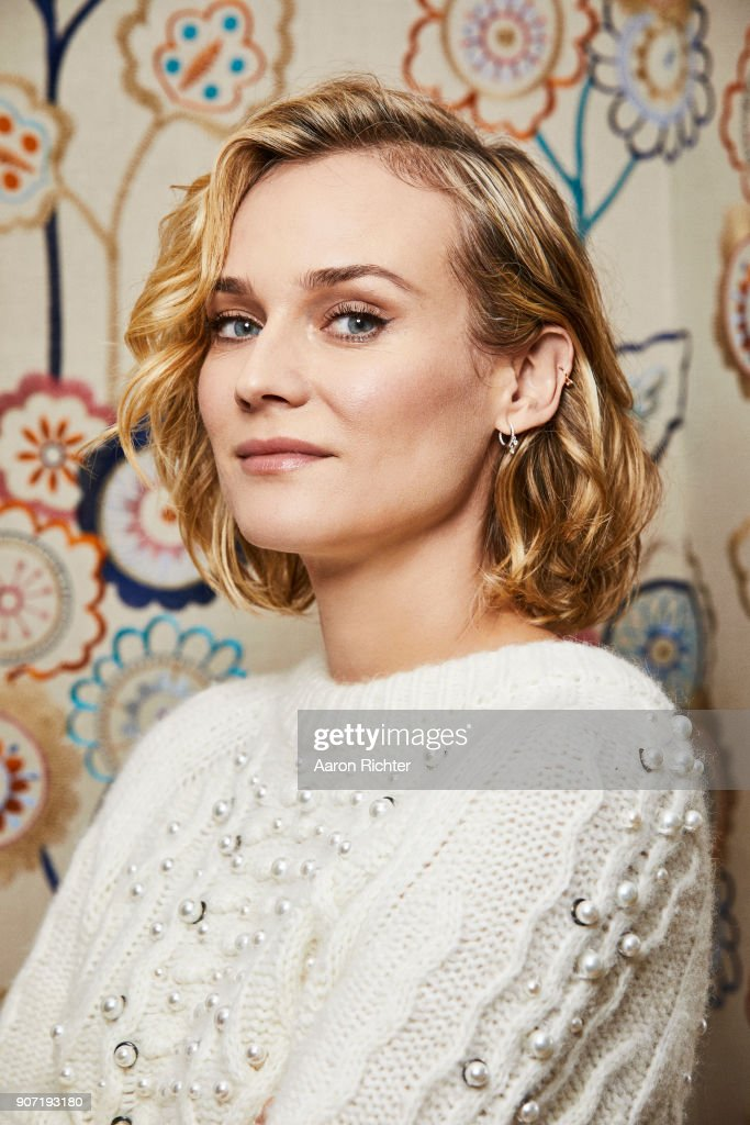 Actress Diane Kruger is photographed for New York Times on December 5, 2017 in New York City.