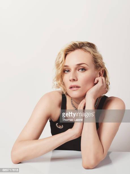 Actress Diane Kruger is photographed for Self Assignment on May 25 2017 in Cannes France