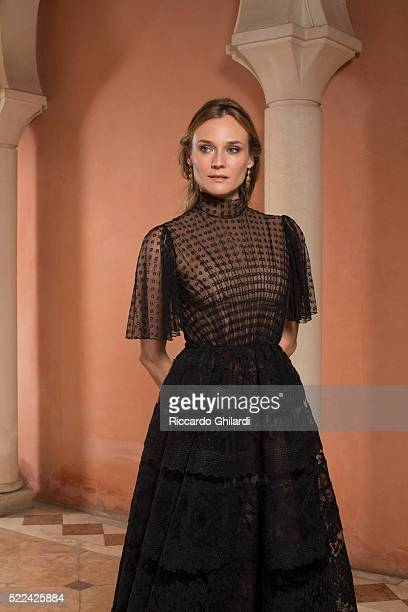 Actress Diane Kruger is photographed for Self Assignment on September 5 2015 in Venice Italy